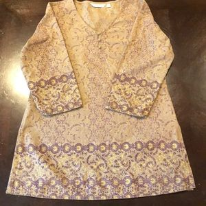 Max India blouse shirt tunic 100% cotton EUC